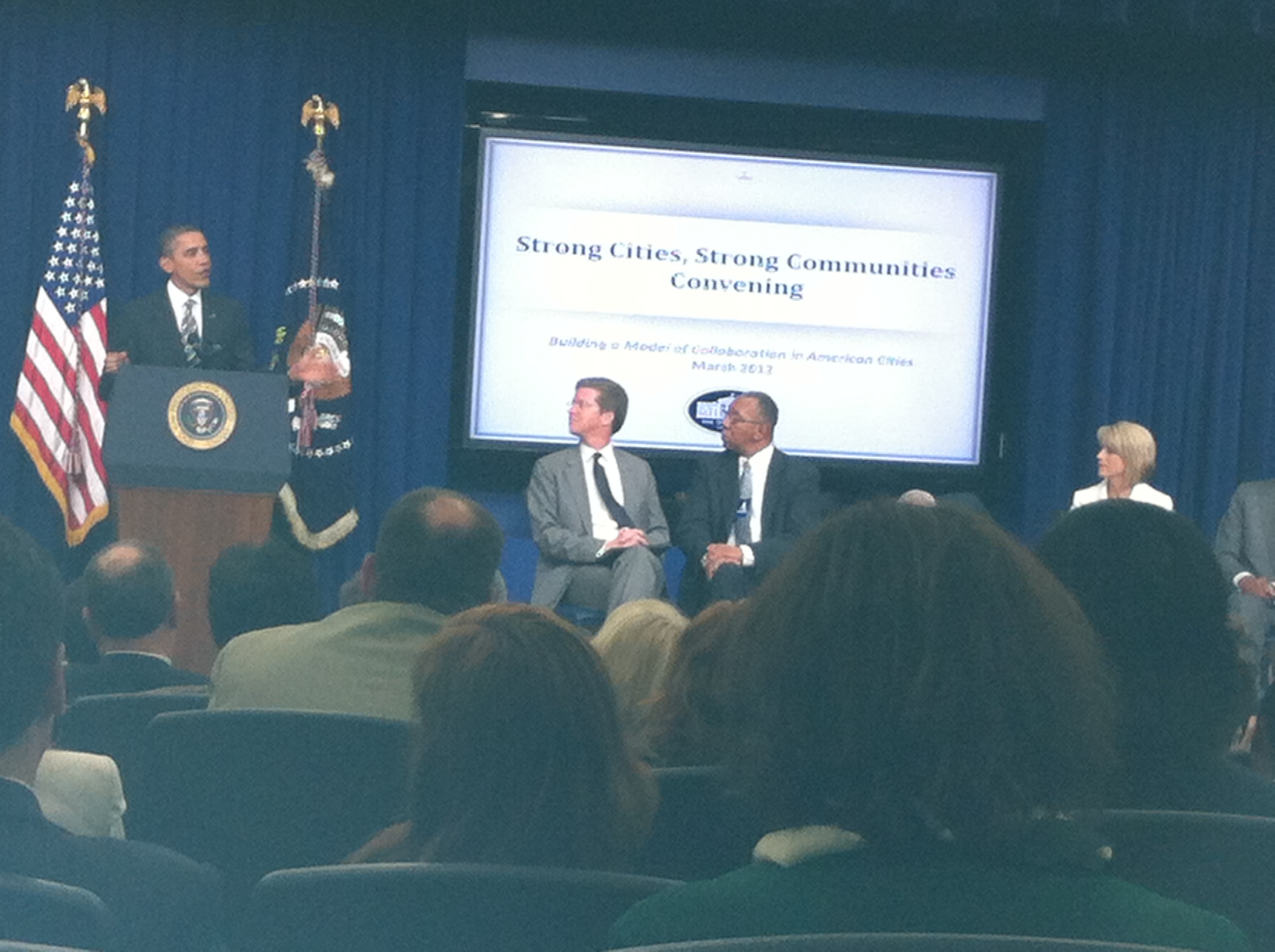 Strong Cities, Strong Communities White House Convening