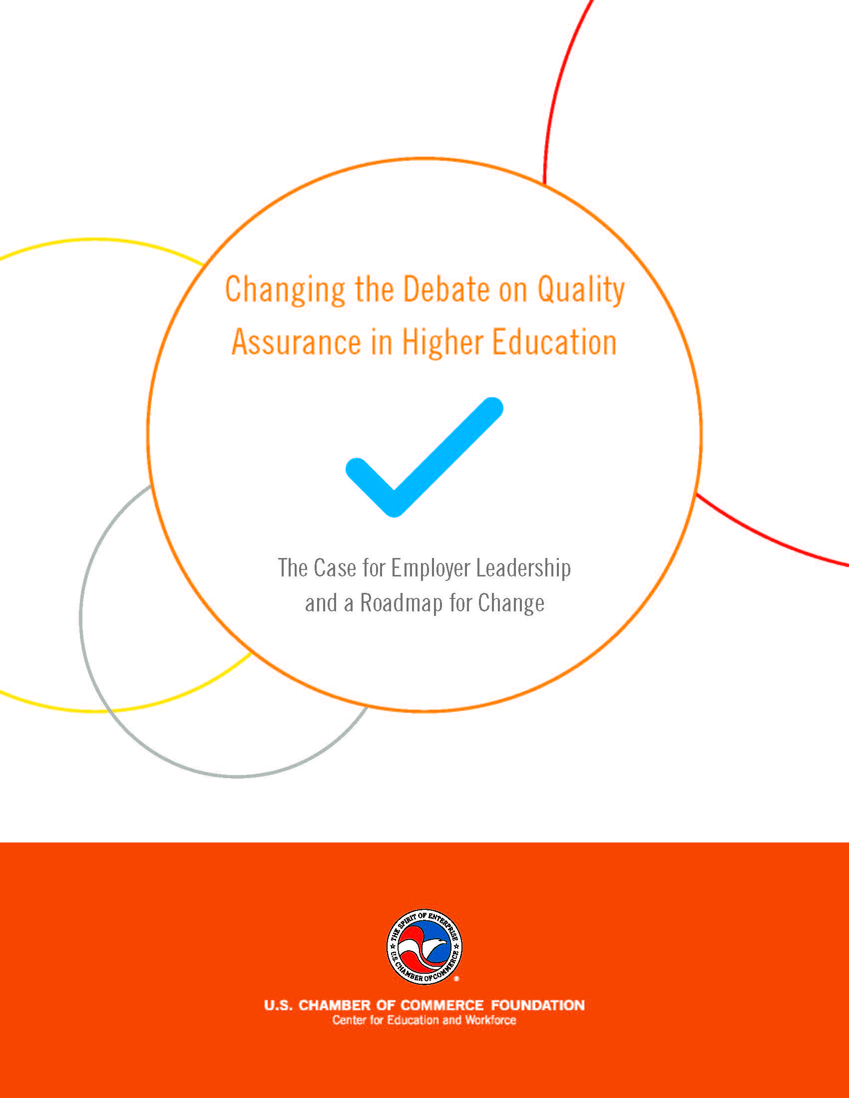 Changing the Debate on Quality Assurance Report