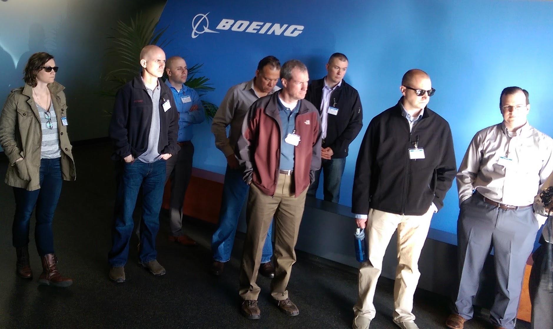 JBLM Fellows at Boeing