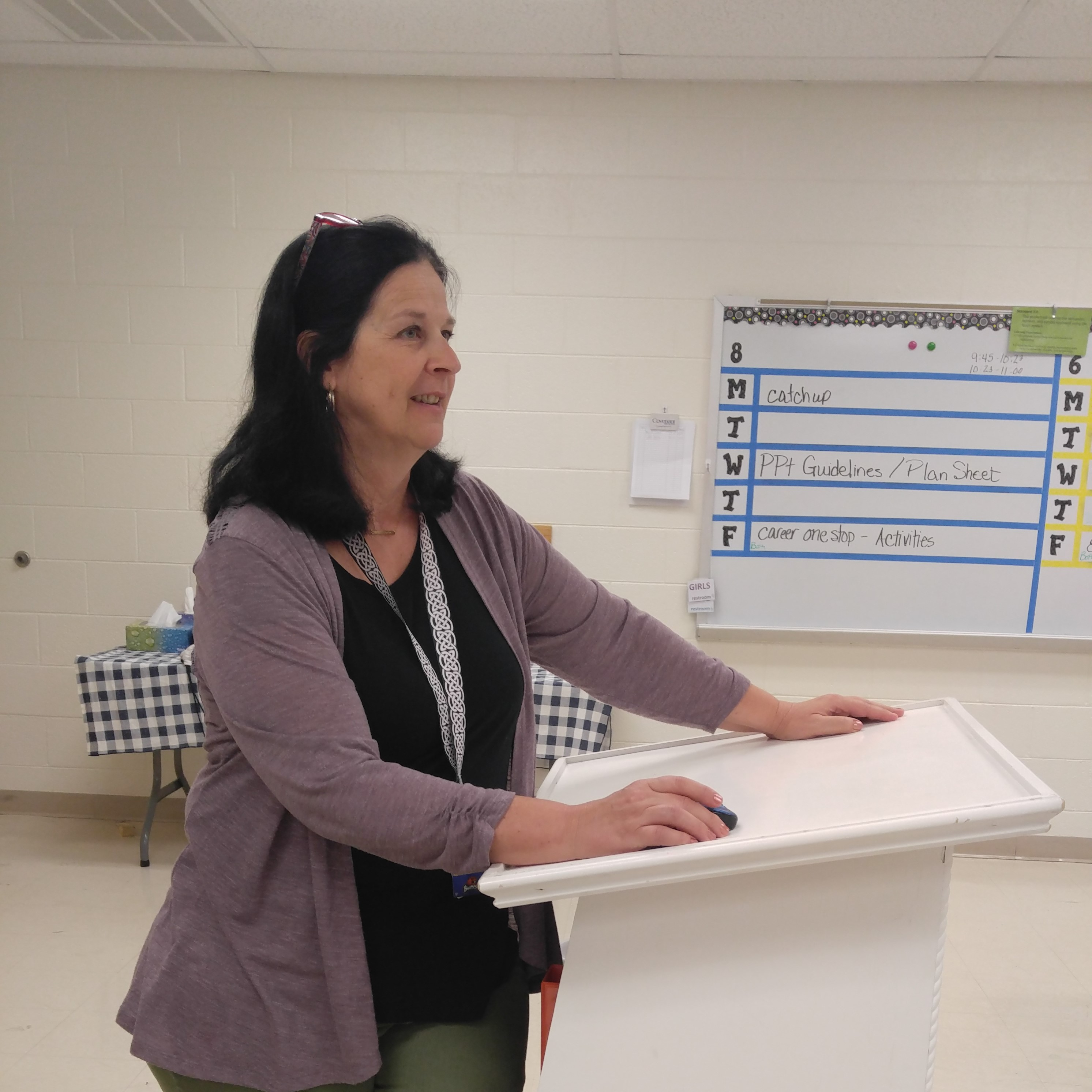 Featured Teacher, Wendy Walker