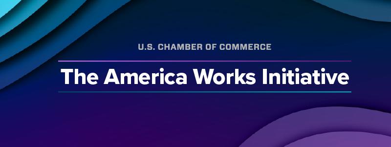 America Works Initiative Banner