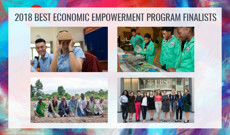2018 Economic Empowerment Finalists