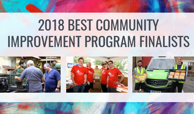 2018 community improvement finalists