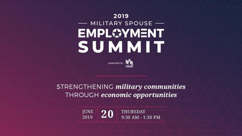 2019 Military Spouse Employment Summit