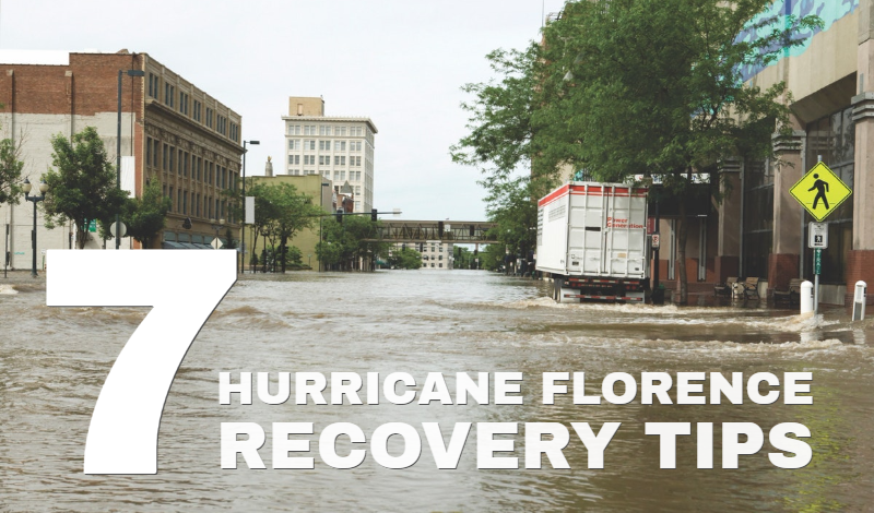 Hurricane Florence recovery tips