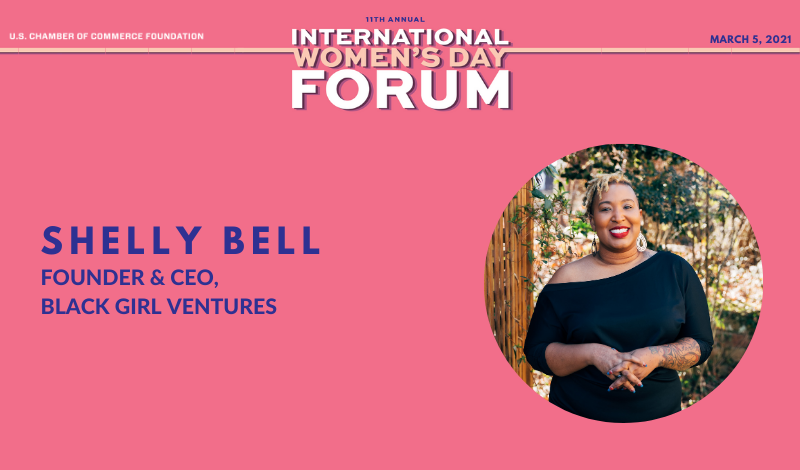 IWD Q&A Shelly Bell