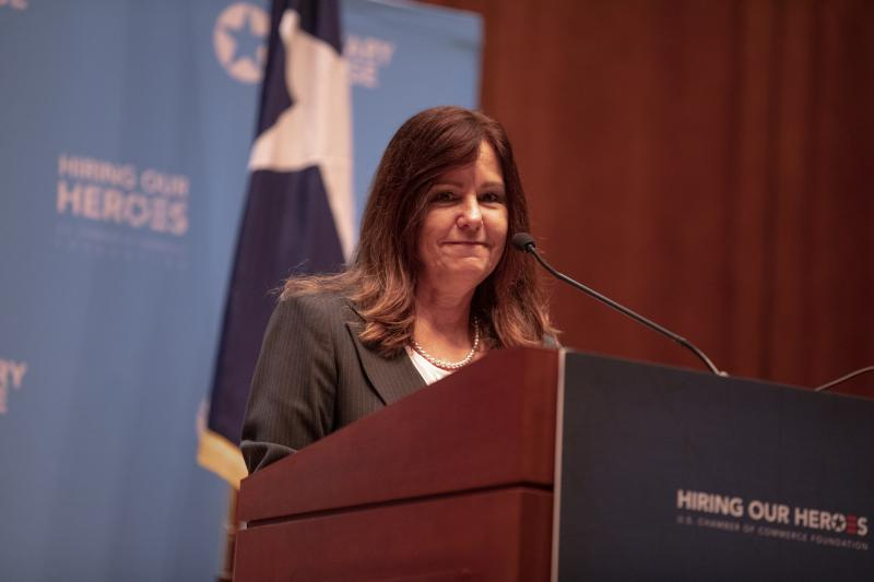Second Lady Karen Pence at the State of Texas MSEEZ Launch