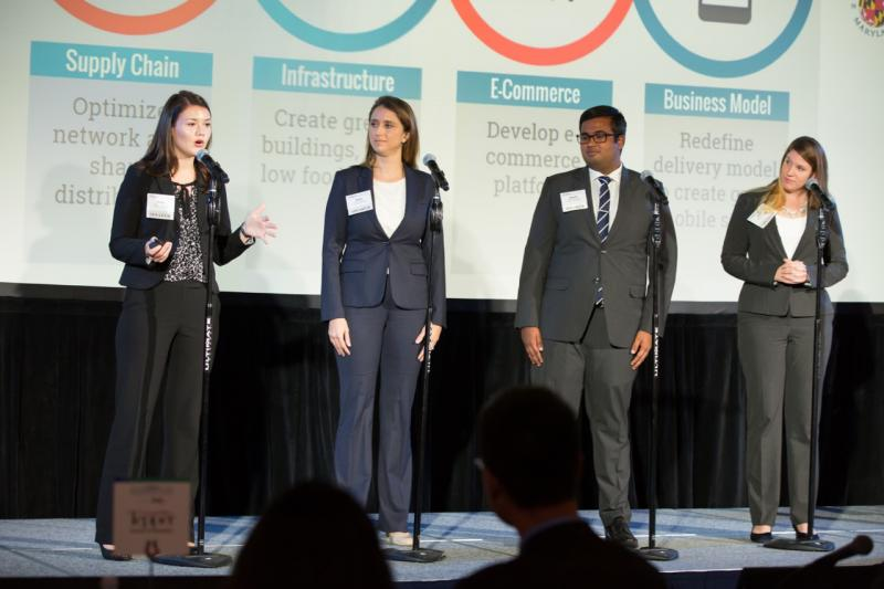 Maryland Wins the Inaugural MBA Case Competition