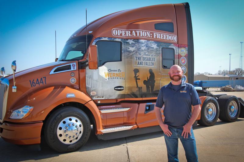 2016 Transition Trucking Award Recipient Troy Davidson