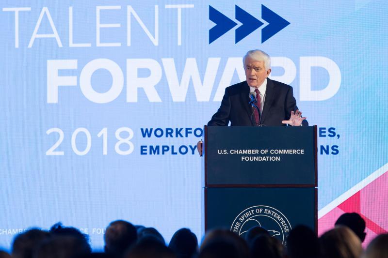 Thomas J. Donohue at Talent Forward 2018