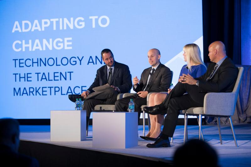 Adapting to Change Panel at Talent Forward 2018