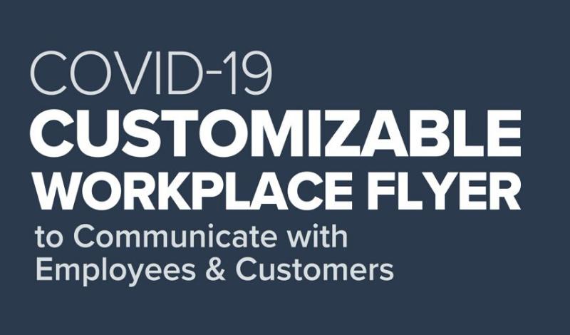 Workplace flyer.