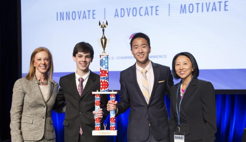 Teens With Reversible Neckties Win Over Business Leaders | U.S. ...