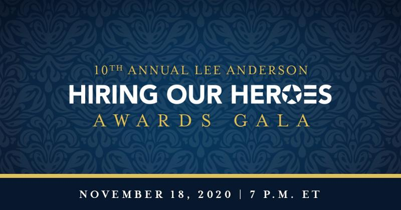 Hiring Our Heroes 2020 Awards Gala