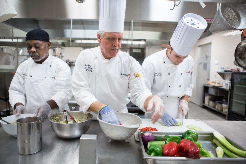 3 Chefs Cooking