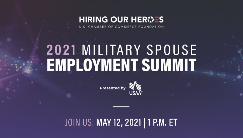 2021 Hiring Our Heroes Military Spouse Employment Summit