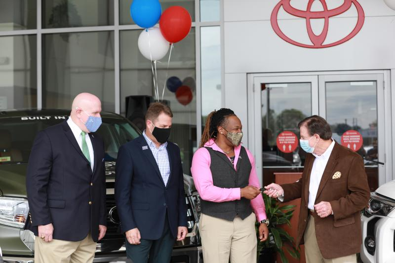Toyota Sweepstakes Winner Ernest Knight