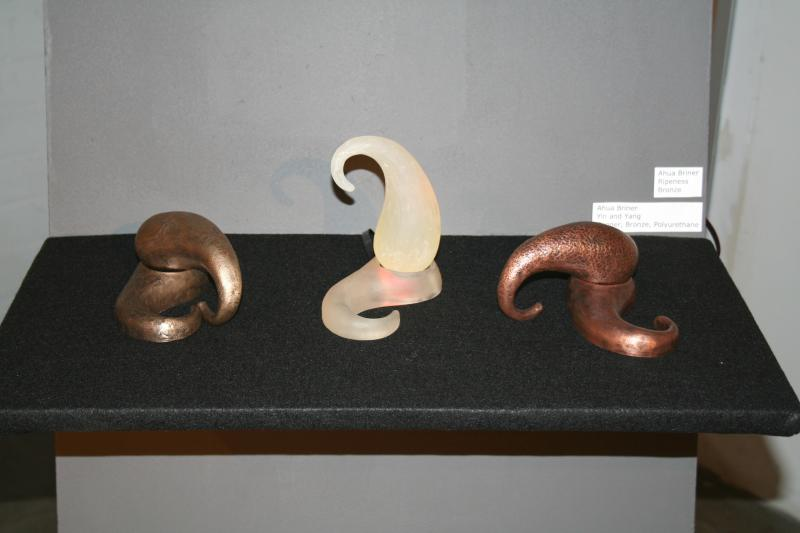 Yin and Yang sculptures