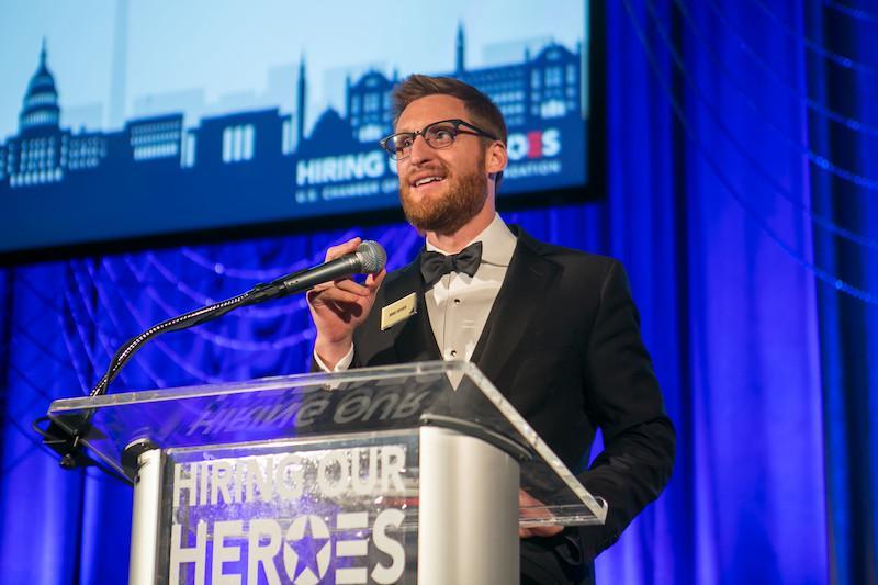 Hiring Our Heroes Gala Emcee Brad Snyder