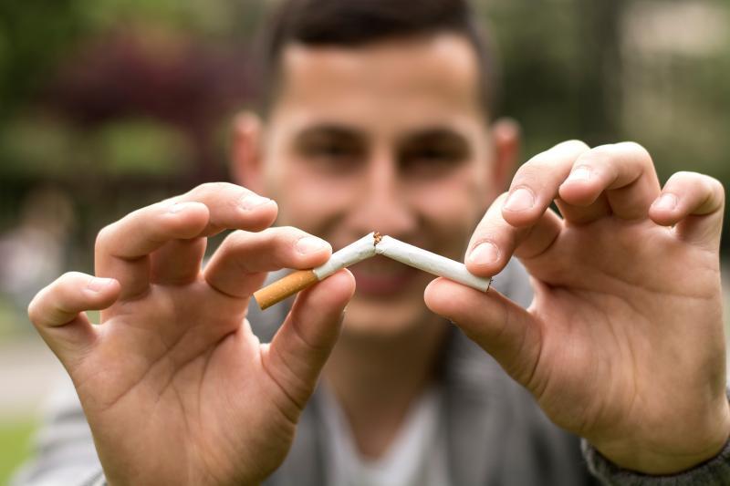 Break cigarette image