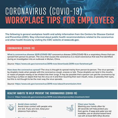 Coronavirus Employees Flier Image Teaser
