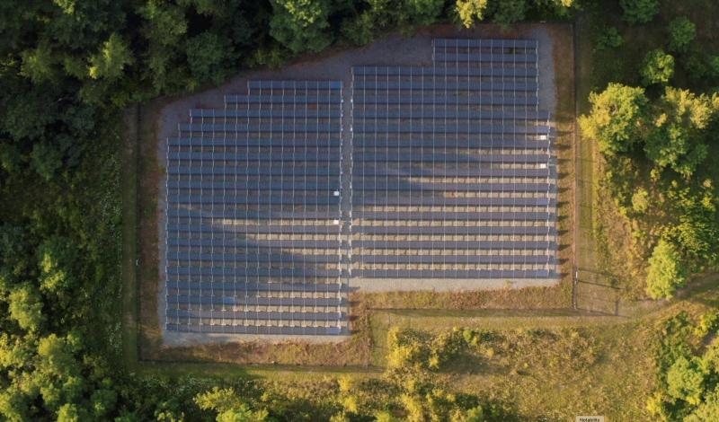 Biogen Facility Solar Farm