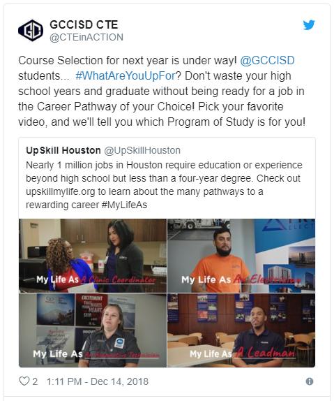 UpSkill Houston_MyLifeAs Promotion