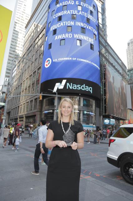 Lucy Davidson at NASDAQ