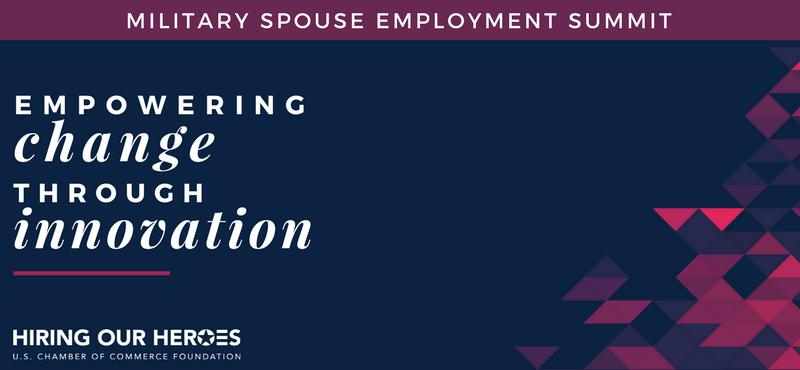 Military Spouse Employment Summit 2018
