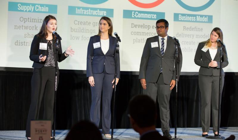 Maryland at the MBA Case Competition