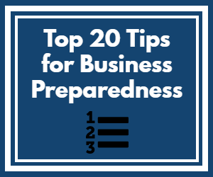 20 Tips for Business Preparedness