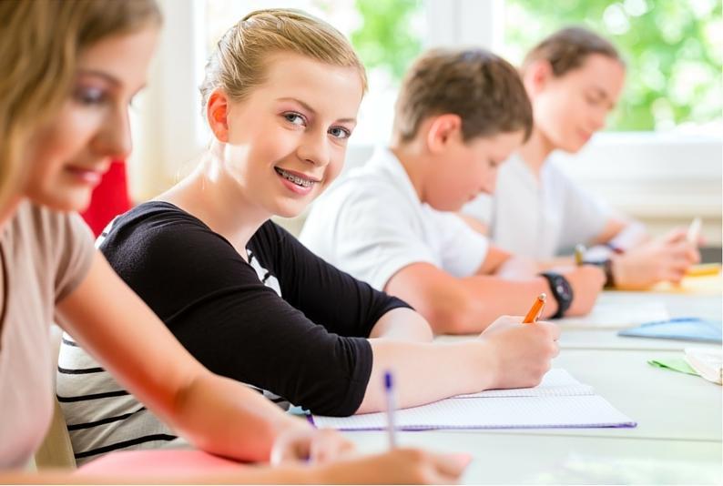 development and middle school how children work in school