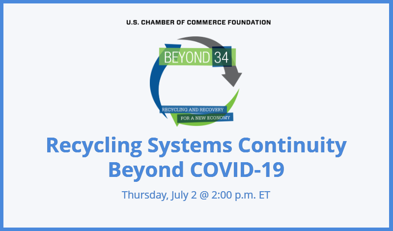 Beyond 34 Series: Recycling Systems Beyond COVID-19