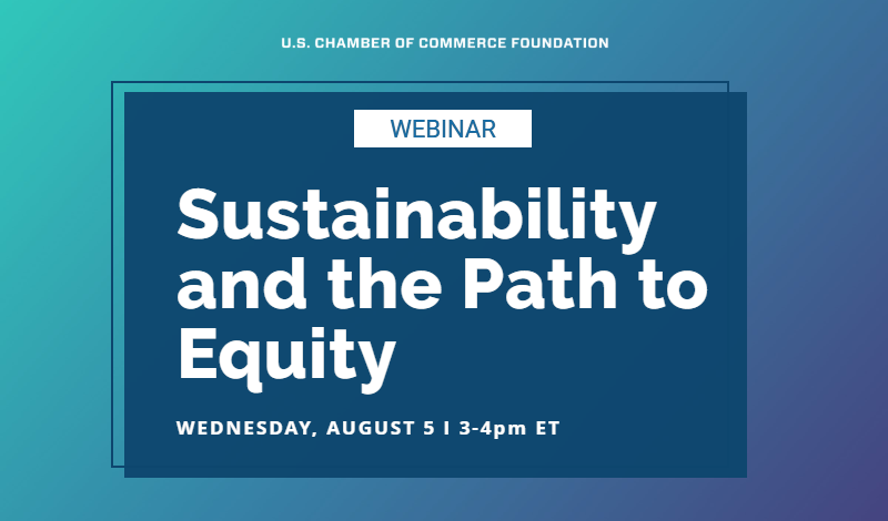 Sustainability and the Path to Equity