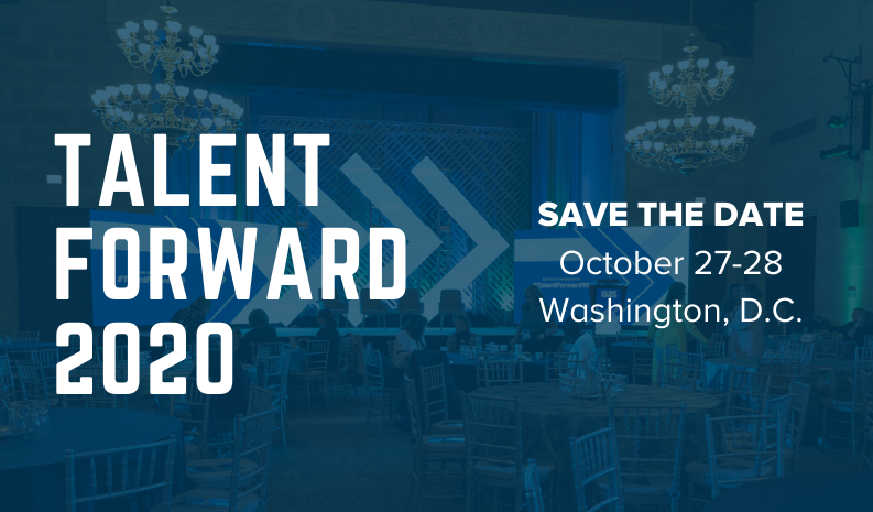 Talent Forward 2020, Save the Date