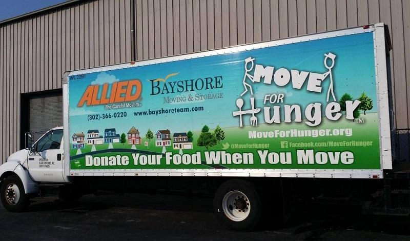 Move for hunger truck