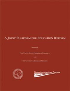 Joint Platform for Ed Reform Cover Image