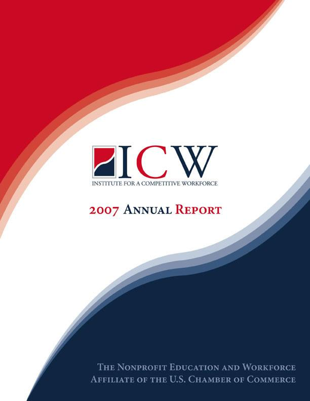 ICW 2007 Annual Report Cover Image