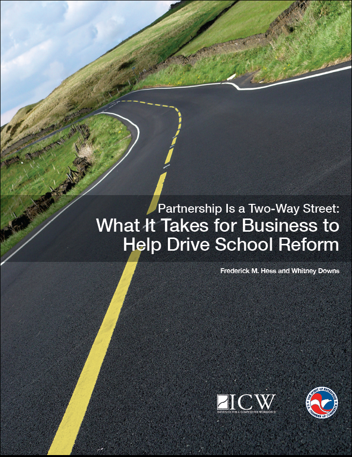 Partnership is a Two-Way Street: What It Takes for Business to Help Drive School