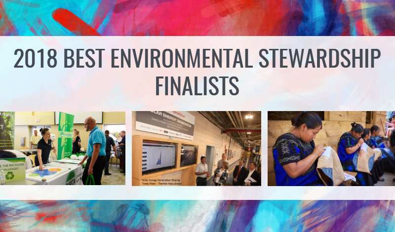 2018 Environmental Stewardship Finalists