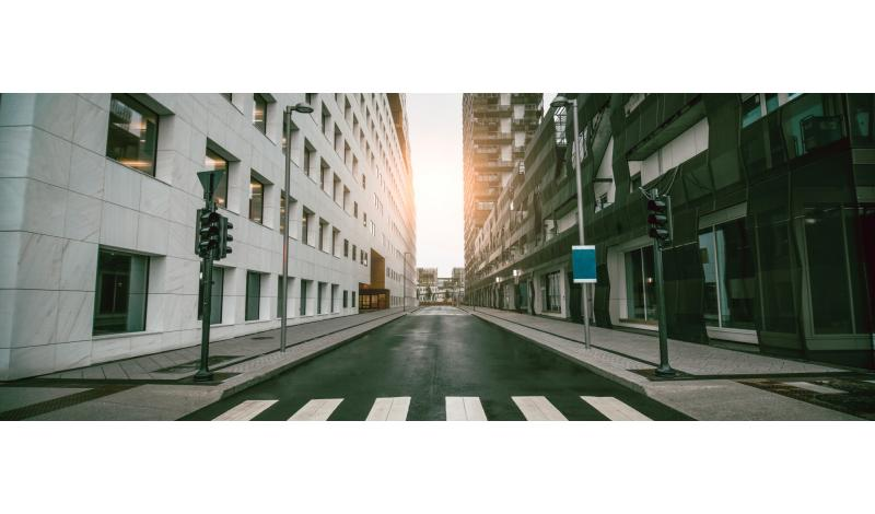 Getty images - empty street