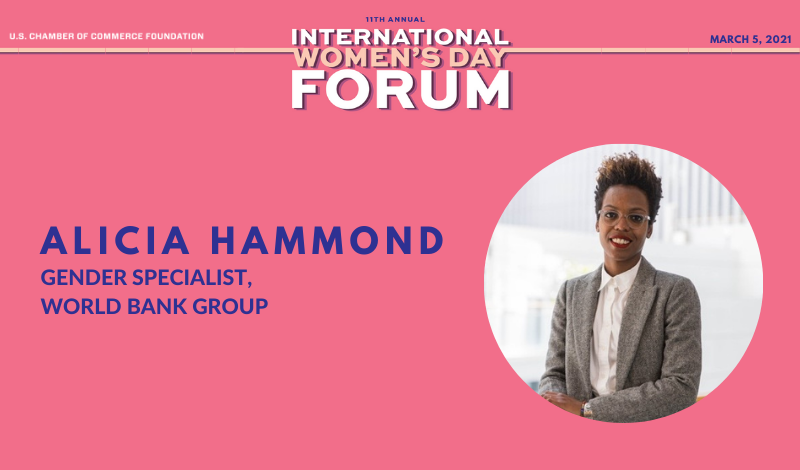 Alicia Hammon IWD Q&A