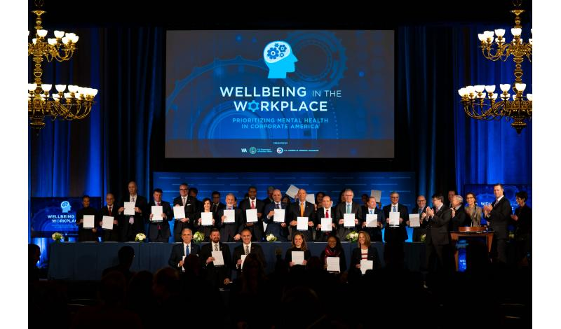 Wellbeing in the Workplace Pledge Signing
