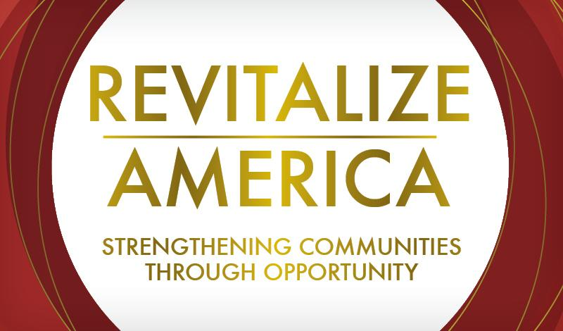 Revitalize America graphic