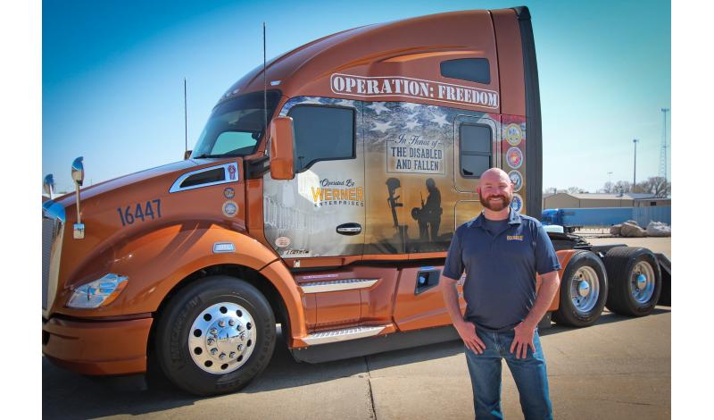 2016 Transition Trucking Award Recipient Troy Davidson