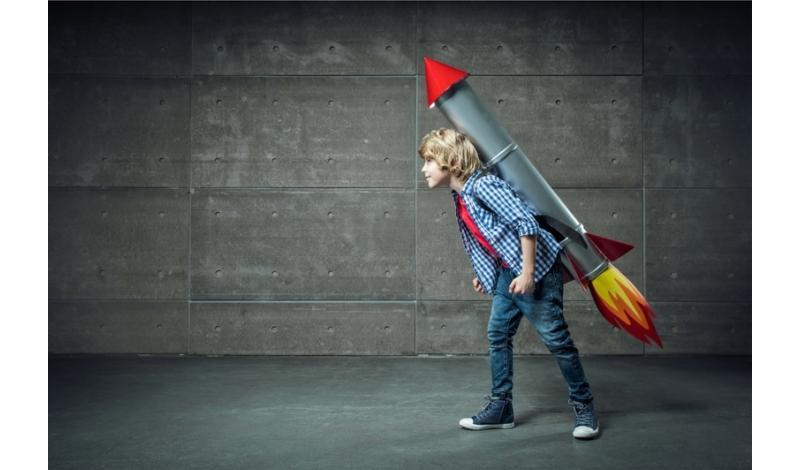 boy rocket