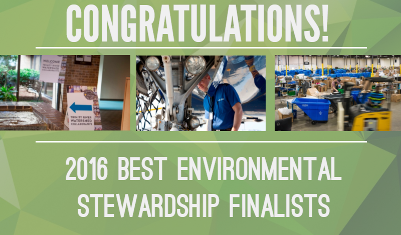 best environmental stewardship finalists