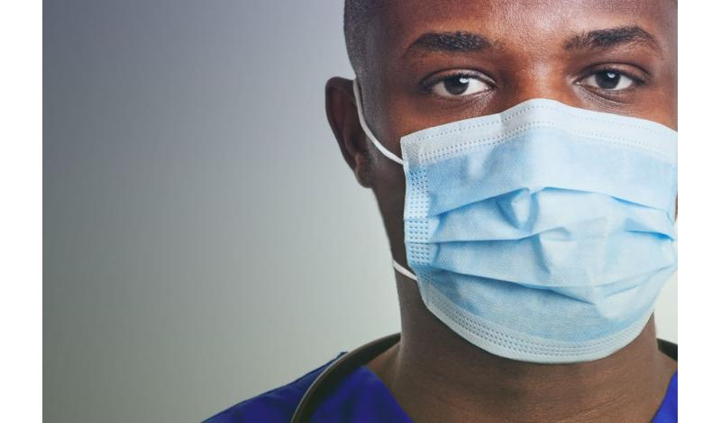 Healthcare Worker in Mask