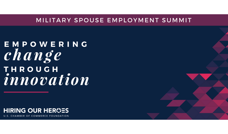 Military Spouse Employment Summit 2018