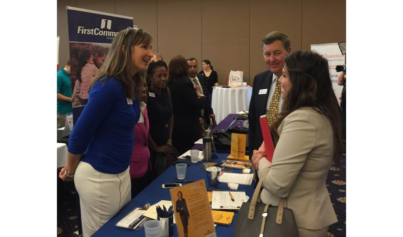 Military spouse hiring fair at Quantico Marine Corps Base